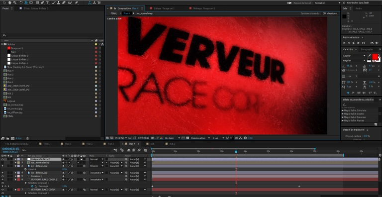 making of VERVEUR RACE CORP