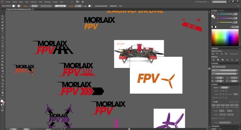 Recherches logo Morlaix FPV